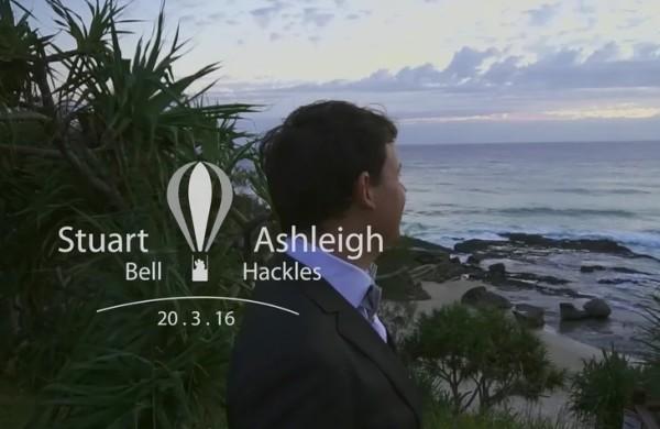 Ashleigh Stu Wedding Films Gold Coast